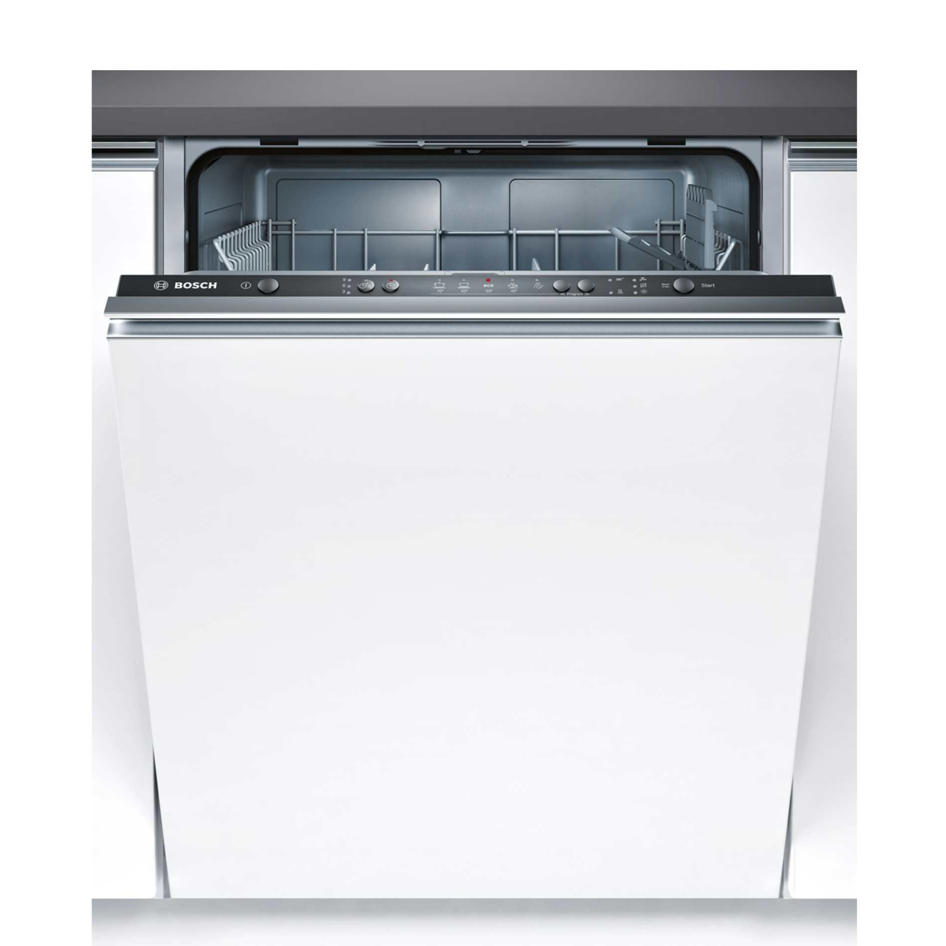 Bosch: SMV50C10GB Black Fully Integrated Dishwasher ...