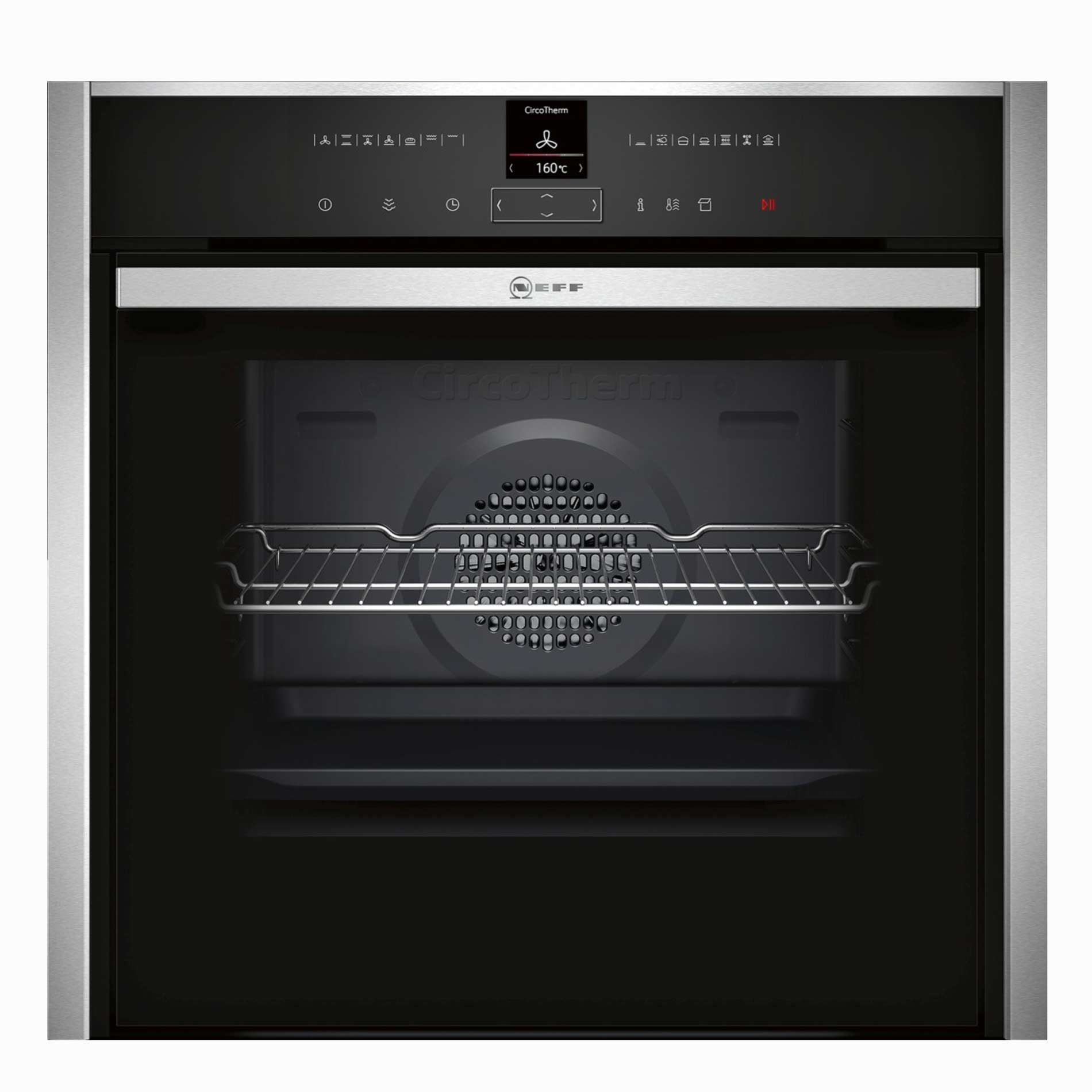 Picture of B47VR32N0B Stainless Steel Oven with VarioSteam