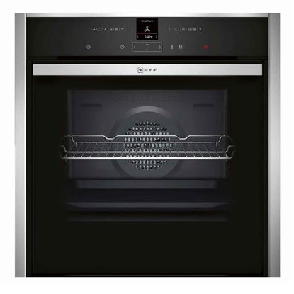 Picture of Neff: B57CR22N0B Stainless Steel Single Oven