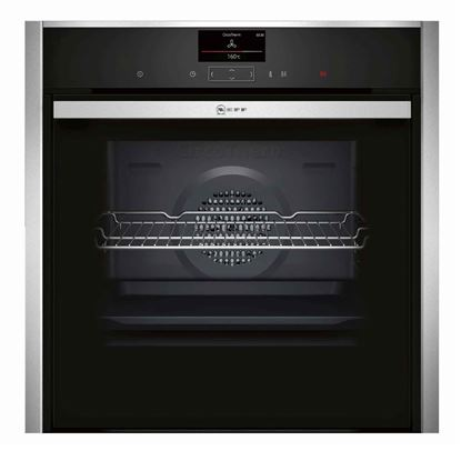 Picture of Neff: B57CS24N0B Stainless Steel Single Oven