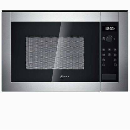 Picture of Neff: H12WE60N0G Microwave Oven Stainless Steel - discontinued