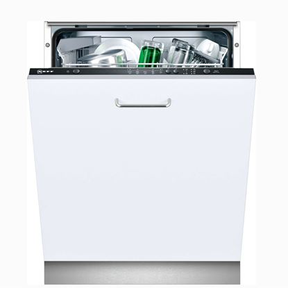 Picture of Neff: S51E50X3GB Black Fully Integrated Dishwasher - Discontinued