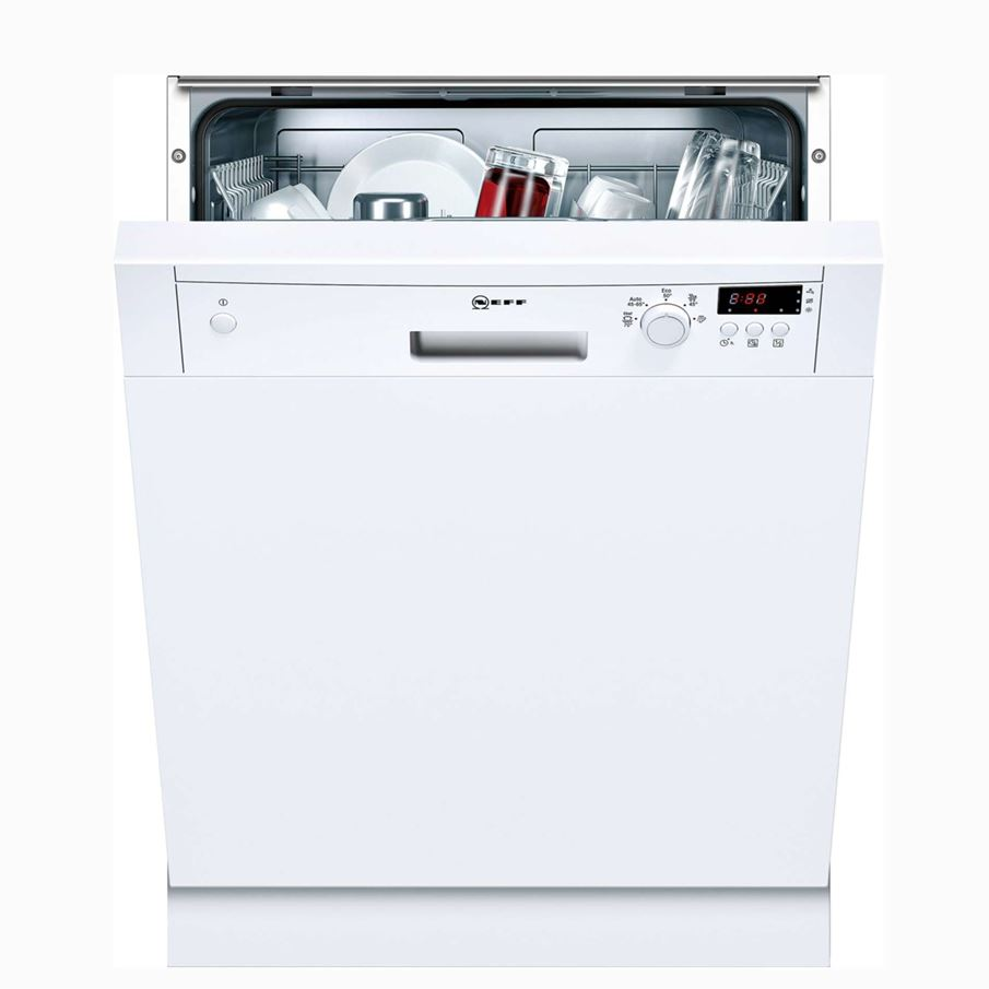 Neff S41e50w1gb White Semiintegrated Dishwasher. Tile Patterns. Countertop Shop. Laundry Room Faucets. Large Modern Chandeliers. Rustic Vanities. Screened In Porch Designs. Ikea Kitchen Table. Chrome Bar Cart