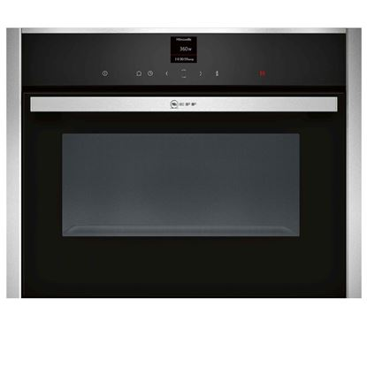 Picture of Neff: C17UR02N0B Compact Microwave Oven Stainless Steel