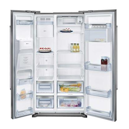 Picture of Neff: KA3902I20G American Style Fridge Freezer