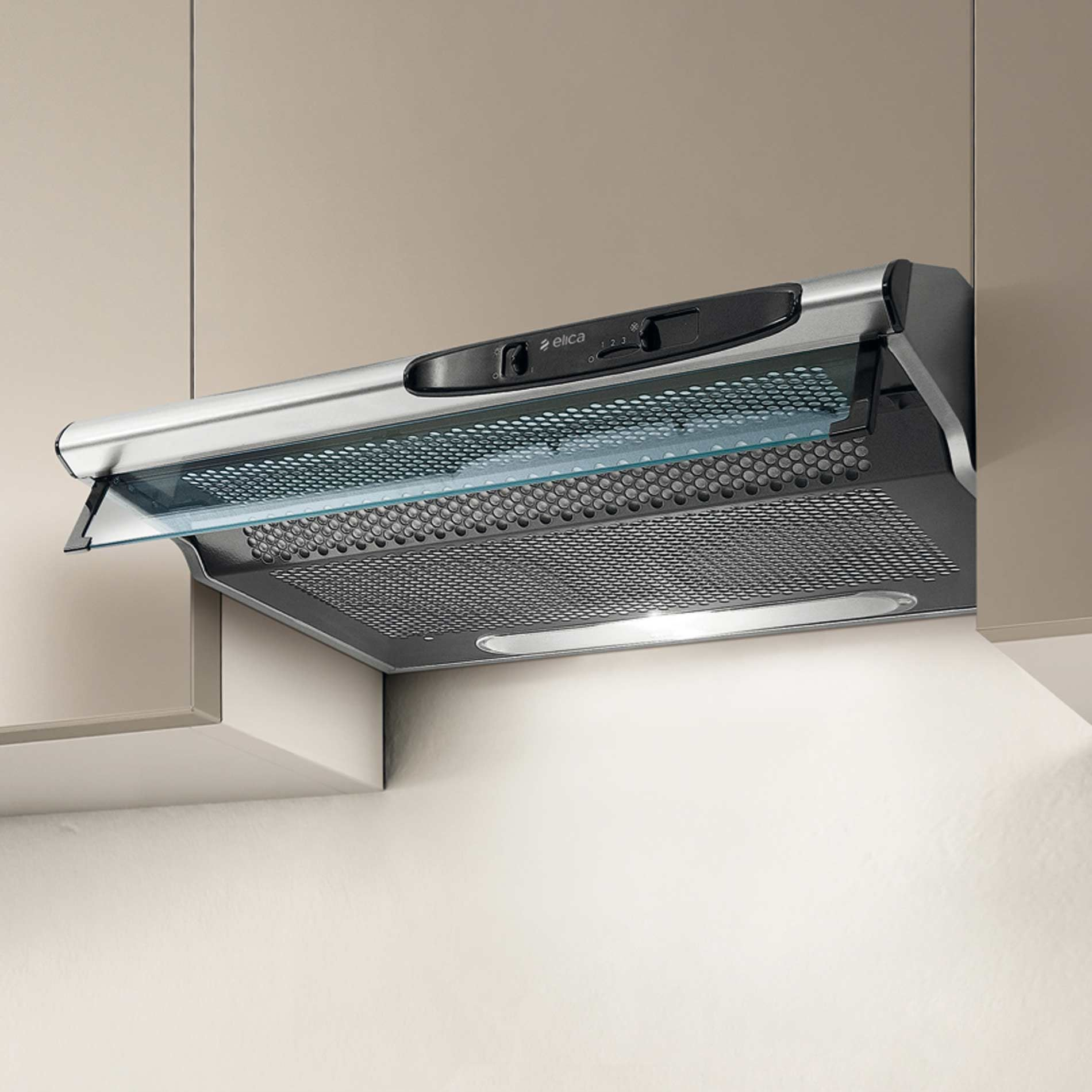 Elica Concorde Twin 90cm Stainless Steel 90cst Hood