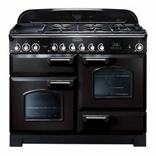 Picture of Classic Deluxe 110 Dual Fuel Black Range Cooker