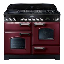 Picture of Classic Deluxe 110 Dual Fuel Cranberry Range Cooker