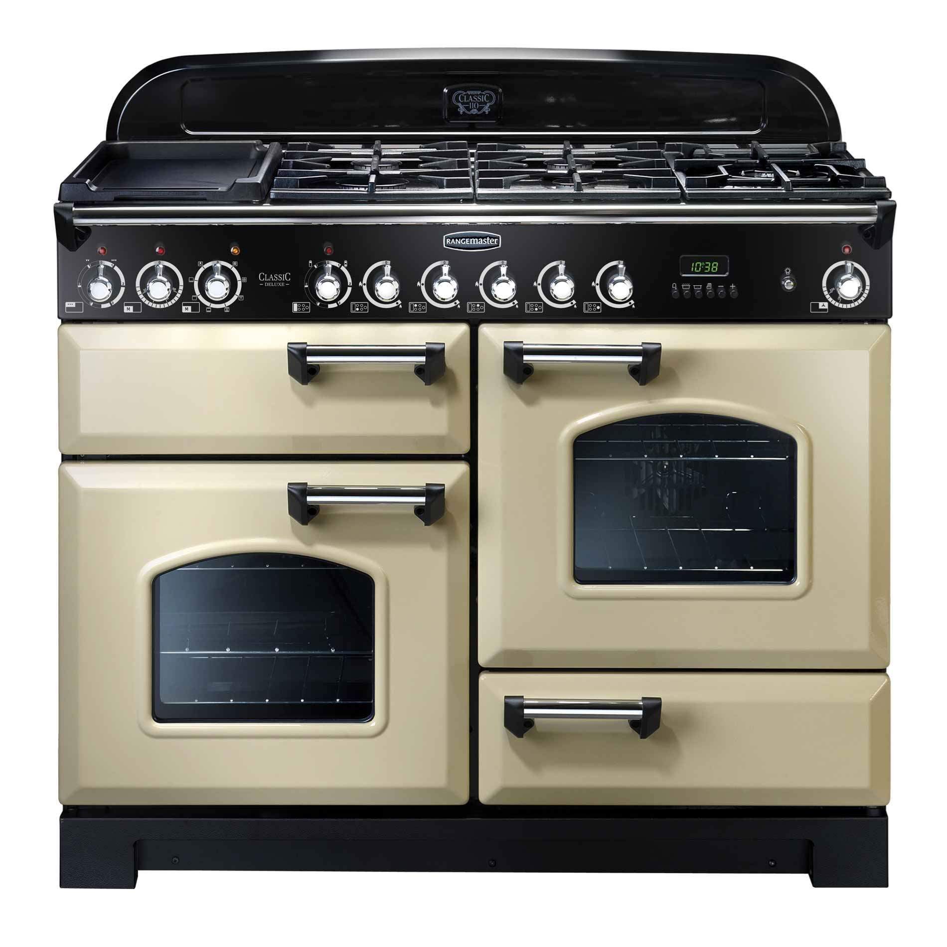 Picture of Classic Deluxe 110 Dual Fuel Cream Range Cooker