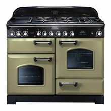 Picture of Classic Deluxe 110 Dual Fuel Olive Green Range Cooker