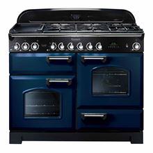 Picture of Classic Deluxe 110 Dual Fuel Regal Blue Range Cooker