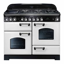 Picture of Classic Deluxe 110 Dual Fuel White Range Cooker