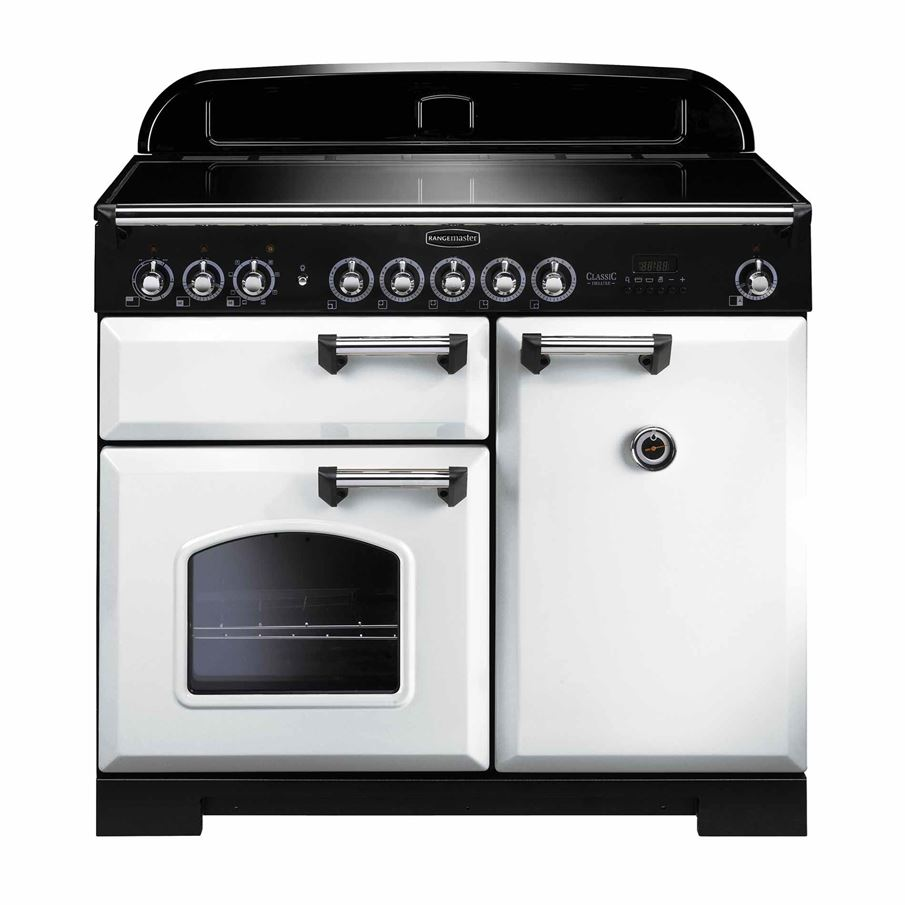 Rangemaster Classic Deluxe 100 Induction White Range. Game Room Pictures. Magnolia Remodeling. Amb Furniture. Accordion Windows. Mountain View Window And Door. Top Tile. Besta Ikea. California Home Builders