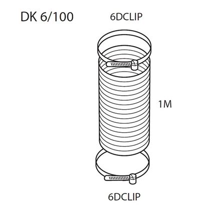 Picture of Elica: DK6/100 - Venting Kit