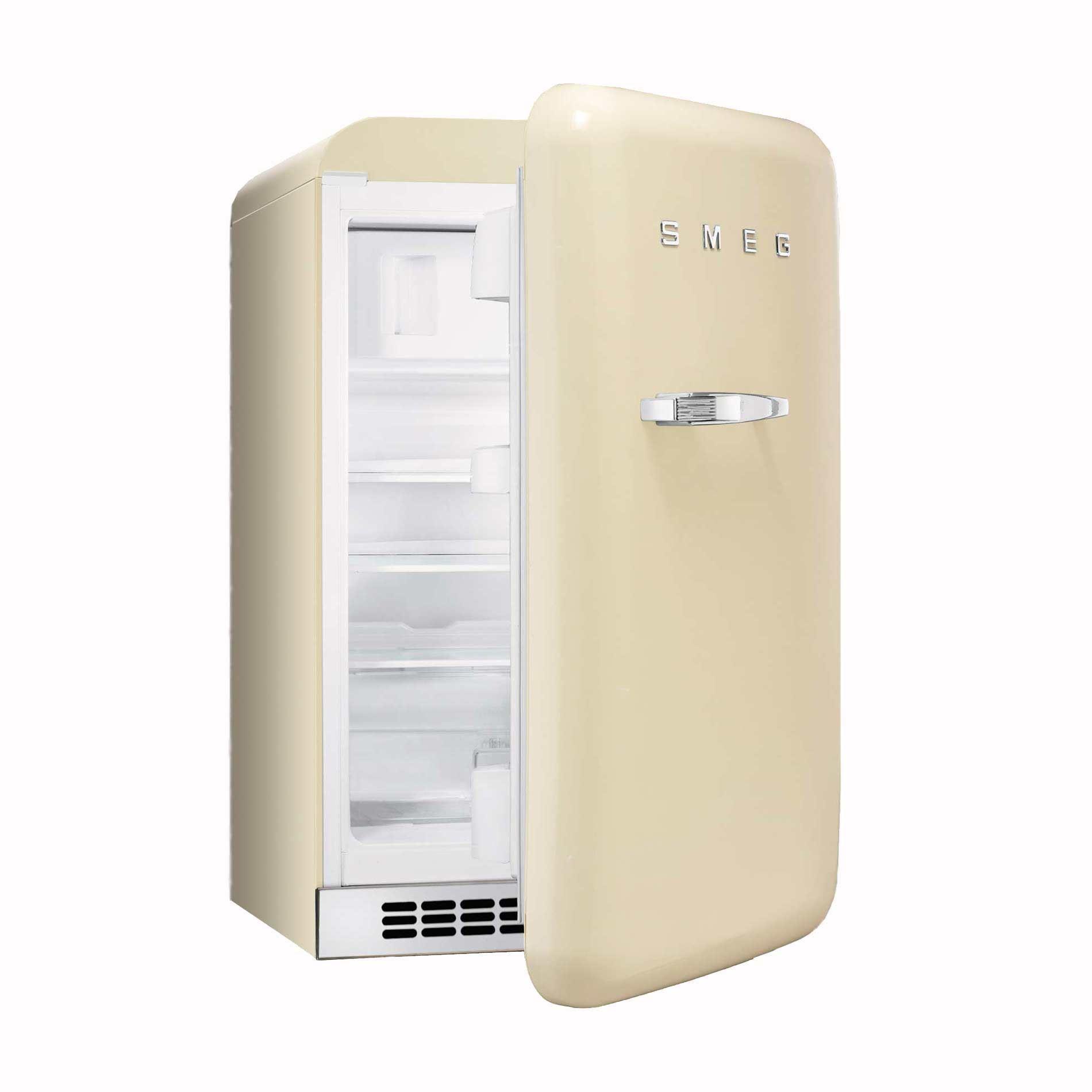 50s Style Kitchen Appliances Smeg Fab10rp 55cm Cream Small 50s Style Fridge With Icebox