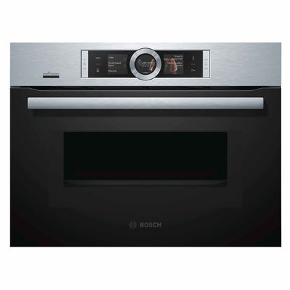 Picture of Bosch: CMG676BS6B Compact Combi Microwave Oven
