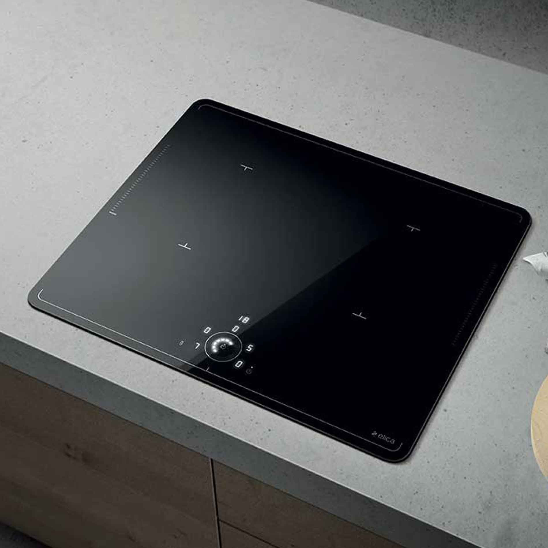 Elica Lien Diamond 604 Induction Hob Black Appliance Source