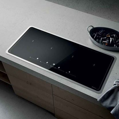Picture of Elica: Lien Diamond Frame 904 Induction Hob Black