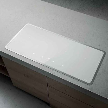 Picture of Elica: Lien Diamond Frame 904 Induction Hob White