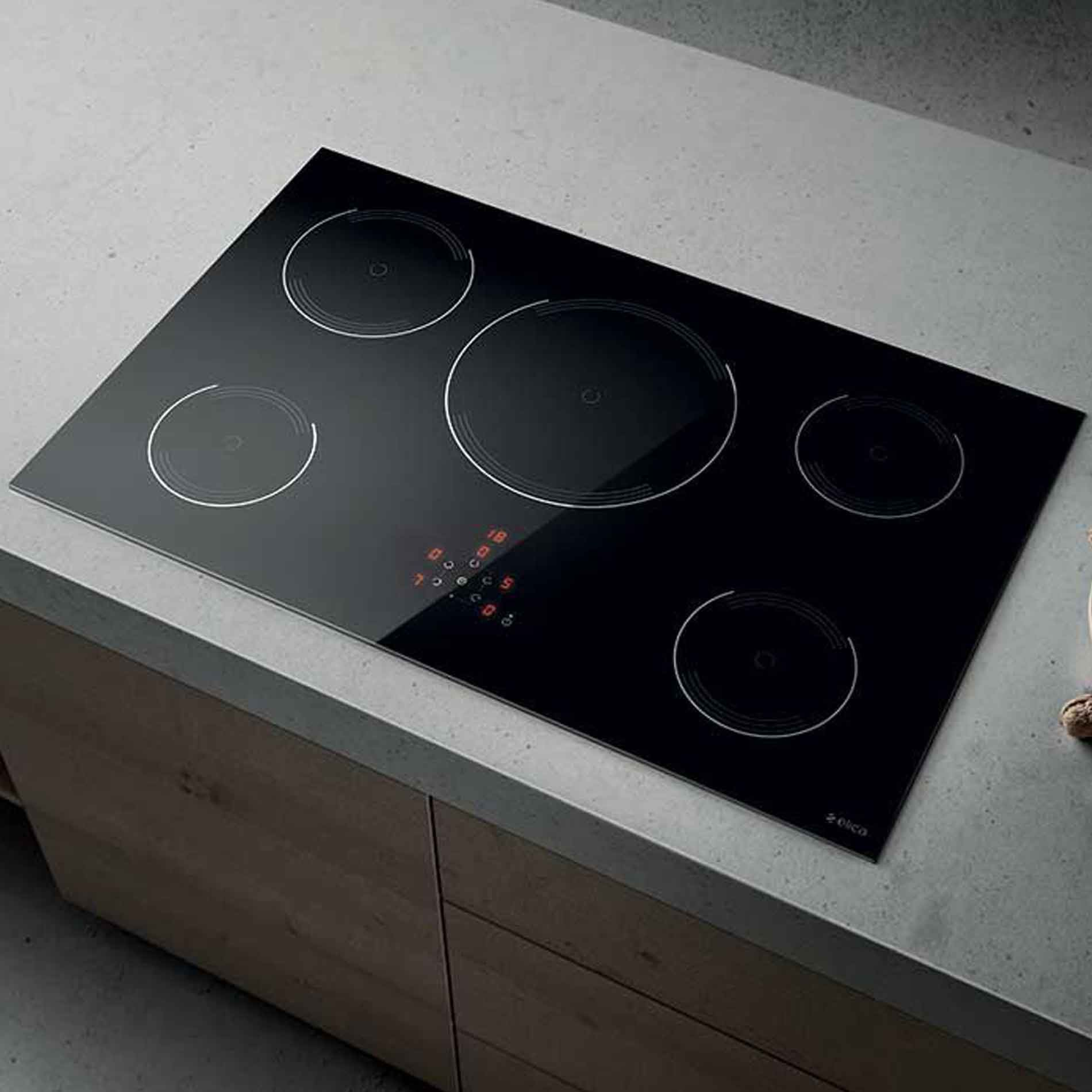 elica lien golden 805 induction hob black appliance source. Black Bedroom Furniture Sets. Home Design Ideas