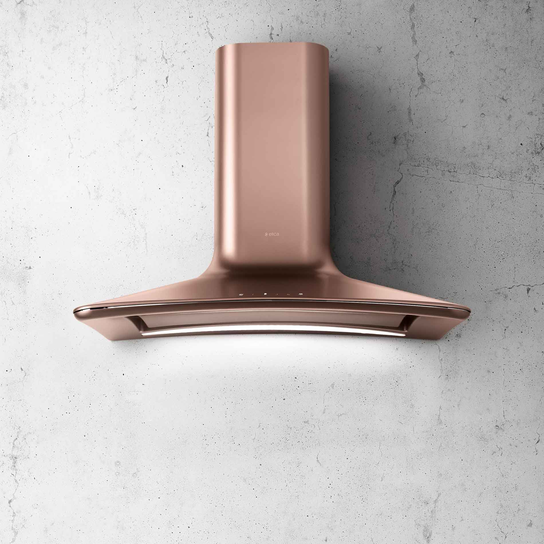 Elica Dolce Copper Cooker Hood Appliance Source