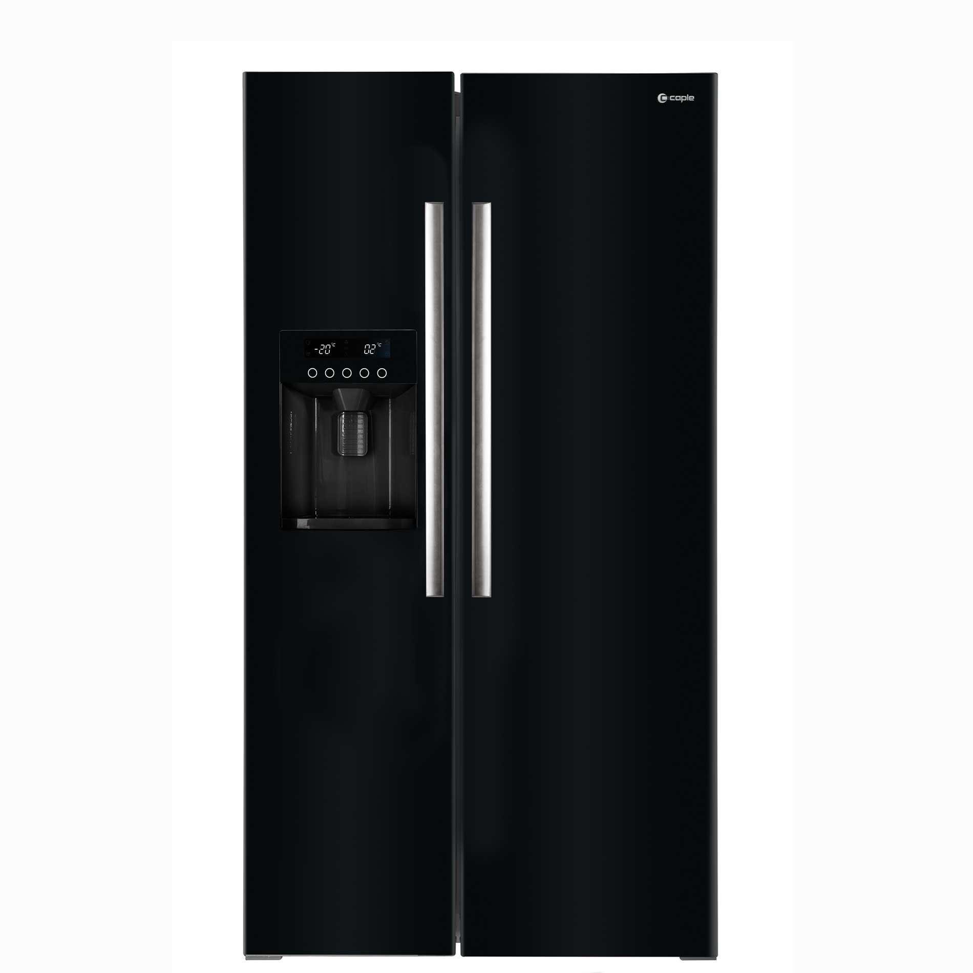 Caple Caff207bk Fridge Freezer In Black Appliance Source