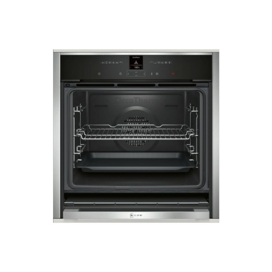 Neff b57cr22n1b built in single oven appliance source - Neff single oven with grill ...
