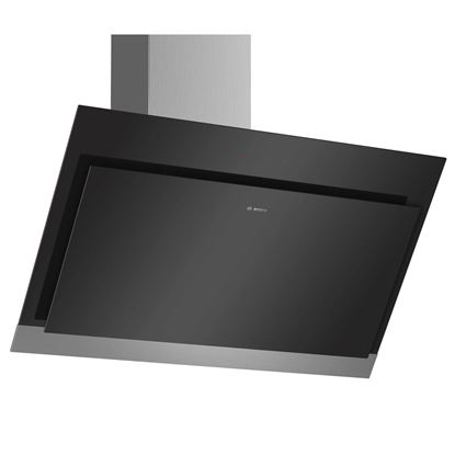 Picture of Bosch: DWK97HM60B Angled Black Chimney Hood