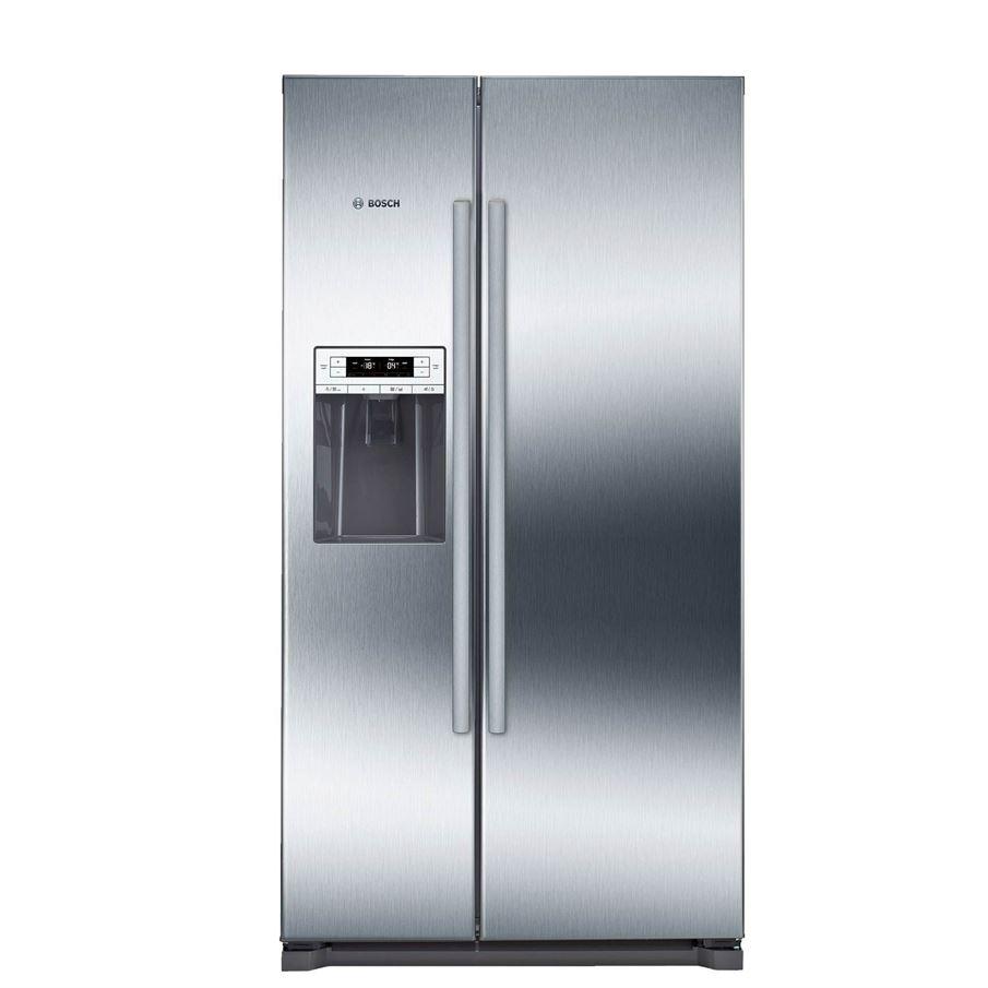 Bosch Kad90vi20g American Style Fridge Freezer