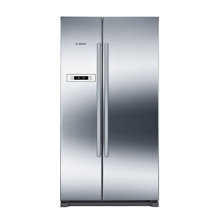 Bosch Kan90vi20g American Style Fridge Freezer
