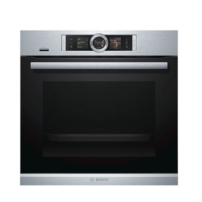 Picture of Bosch: HRG6769S6B Single Pyrolytic Oven Brushed Steel