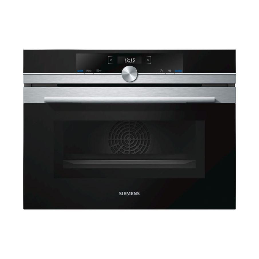 Siemens Cm633gbs1b Compact Oven With Microwave