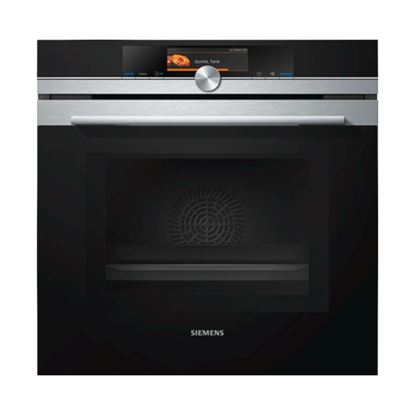 Picture of Siemens: HM678G4S6B Built In Single Oven With Microwave