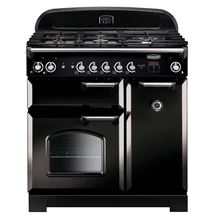 Picture of Classic 90 Black Dual Fuel Range Cooker