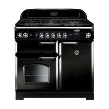Picture of Classic 100 Black Gas Range Cooker