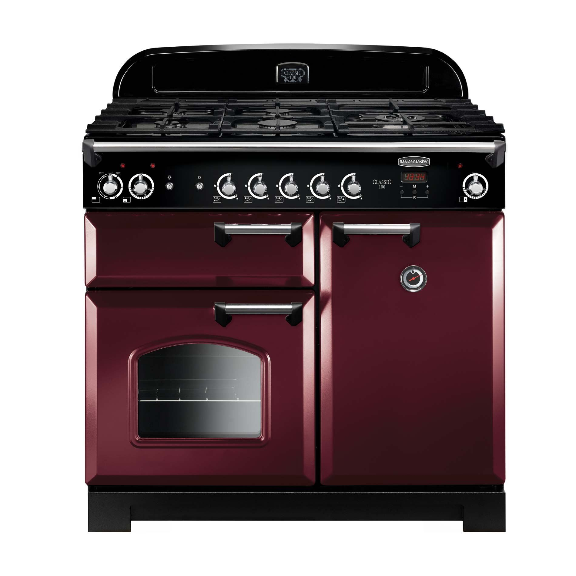 Picture of Classic 100 Cranberry Gas Range Cooker