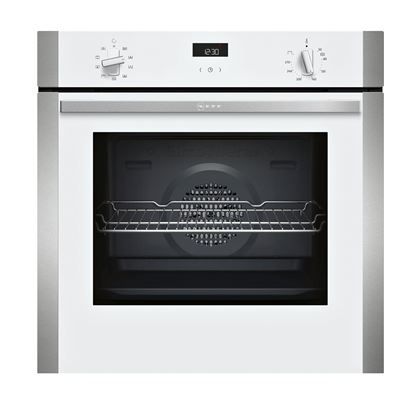 Picture of Neff: B1ACE4HW0B Built-In White Single Oven