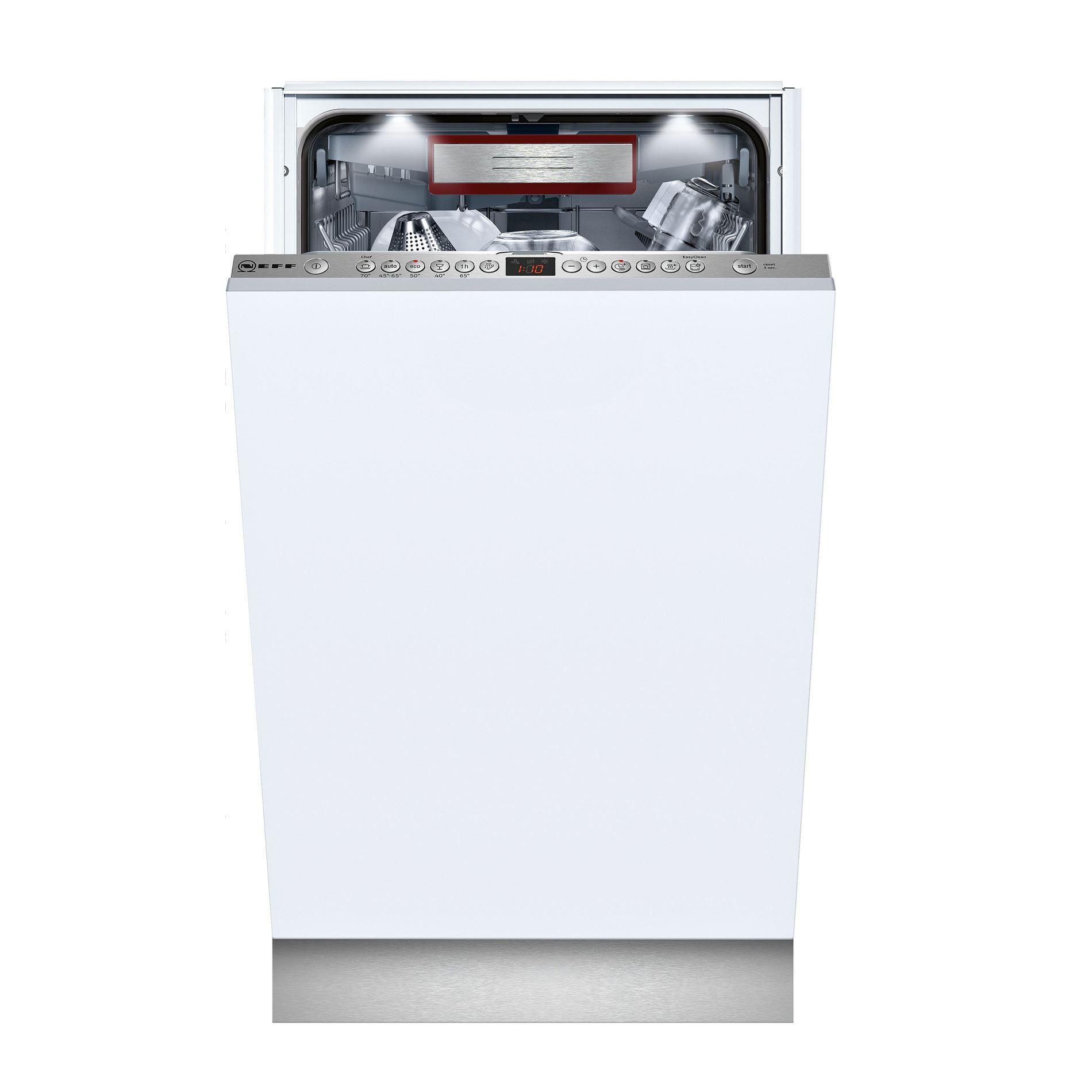 Neff S586t60d0g 45cm Slimline Dishwasher Appliance Source