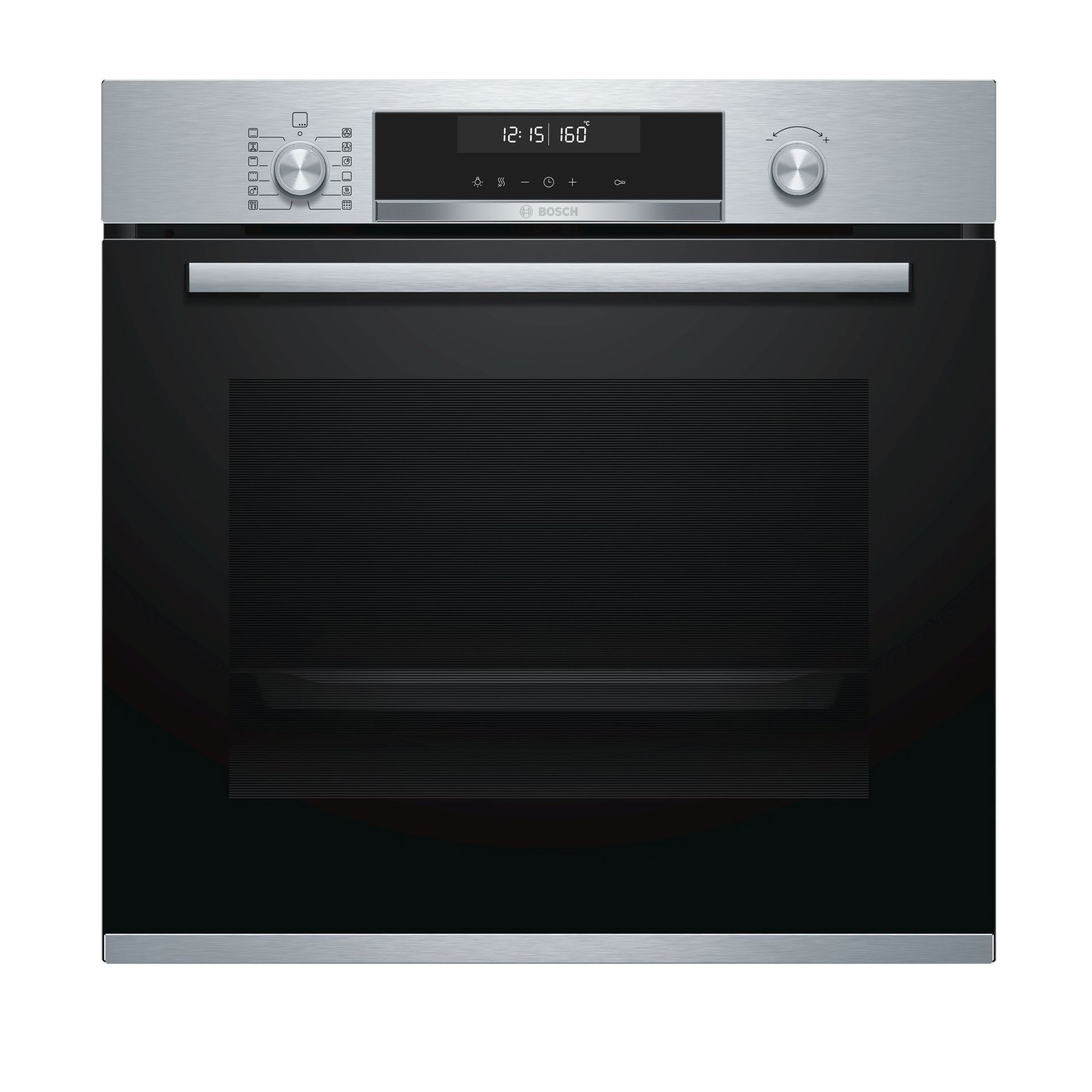 Picture of HBG5785S0B Single Pyrolytic Oven Brushed Steel