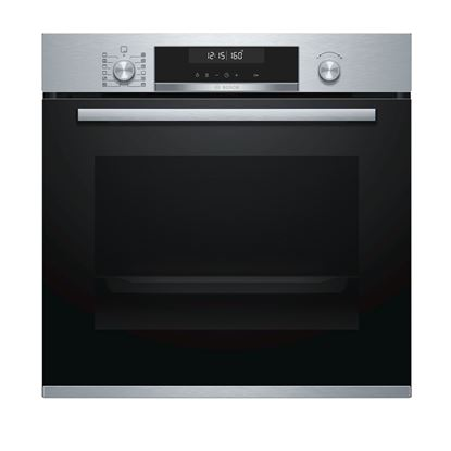 Picture of Bosch: HBG5785S0B Single Pyrolytic Oven Brushed Steel