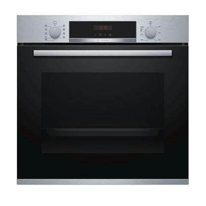 Picture of Bosch: HBS573BS0B Single Pyrolytic Oven Brushed Steel