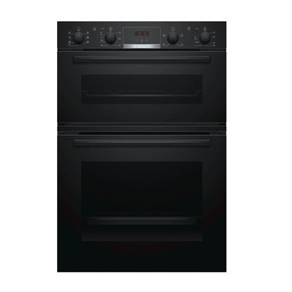 Picture of Bosch: MBS533BB0B Black Built-In Double Oven