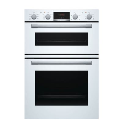 Picture of Bosch: MBS533BW0B White Built-In Double Oven