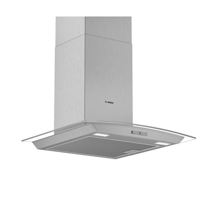 Picture of Bosch: DWA64BC50B Glass Chimney Hood