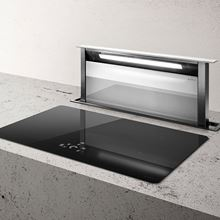 Picture of Andante 90 White Downdraft Hood With Internal Motor